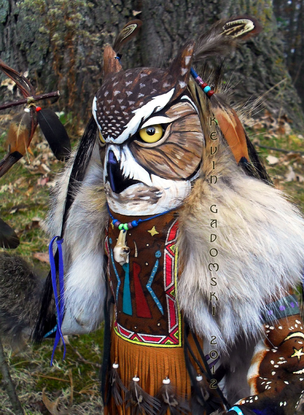 Great Horned Owl Totem Freedomgallery